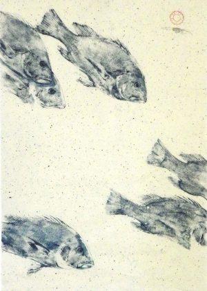 Eliza Dennis Fish Art Print