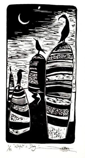 Eliza Dennis Lino Print