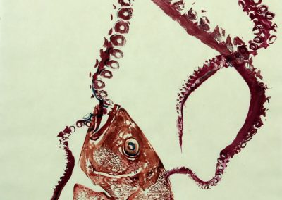 Fish Art Print Eliza Dennis