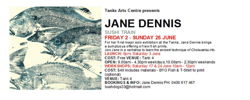 Fish Art Print Jane Eliza Dennis