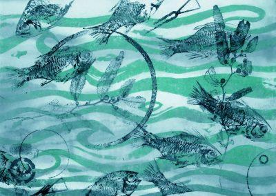 The Tidal Sea Art Print